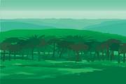 风景背景矢量素材191