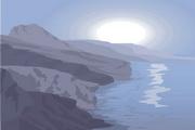 风景背景矢量素材193
