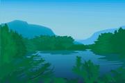 风景背景矢量素材208