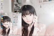清纯唯美女孩电脑主题