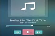 iOS7音乐播放器PSD