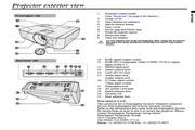 三菱EX270U投影机说明书