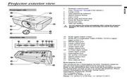 三菱EX240U投影机说明书