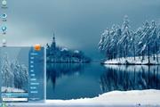 湖边雪景桌面主题 1.0