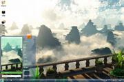 云雾山峰电脑桌面 1.0