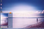 紫色海滩电脑主题 1.0