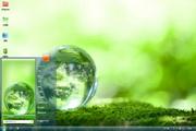 绿色苔球电脑主题 1.0
