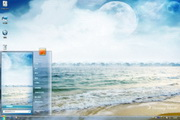 清凉大海电脑桌面 1.0