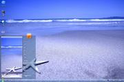 沙滩上的海星桌面 1.0