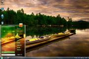 夕阳下的湖面主题 1.0