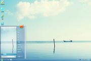 清凉湖面电脑桌面 1.0