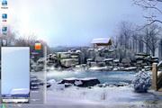 雪景温泉电脑主题 1.0