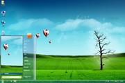 梦幻热气球Win7主题 1.0