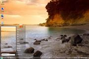 黄昏的海岸Win7主题 1.0