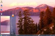 美国火山口湖win7主题 1.0