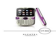 阿尔卡特OT-802手机说明书