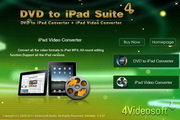 4Videosoft DVD to iPad Suite for Mac 5.2.70