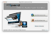 Tipard DVD to Audio Suite for Mac 5.0.26