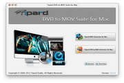 Tipard DVD to MOV Suite for Mac 5.0.26