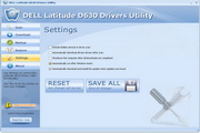 DELL Latitude D630 Drivers Utility