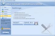 DELL Latitude D810 Drivers Utility 6.6