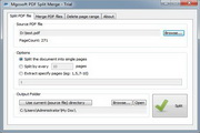Mgosoft PDF Split Merge Command Line 8.6.203