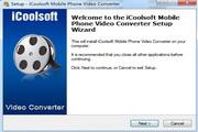 icoolsoft Mobile Phone Video Converter 3.1.20
