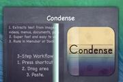 Condense For Mac 1.1