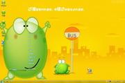 绿豆蛙win7主题