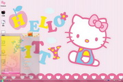 Hello Kitty win7主题