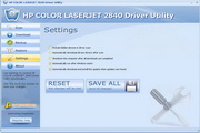 HP COLOR LASERJET 2840 Driver Utility 6.0