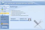 HP DESKJET D1660 Driver Utility 6.6