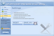 HP OFFICEJET PRO K550 Driver Utility 6.6