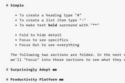 FoldingText  For Mac 2.1.1