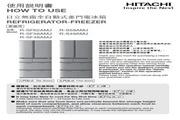 日立R-S59AMJ无霜全自动式多门电冰箱使用说明书