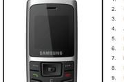 三星手机SGH-C450说明书