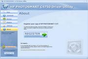 HP PHOTOSMART C4750 Driver Utility 6.5