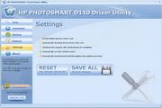 HP PHOTOSMART D110 Driver Utility 6.5