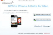 4videosoft DVD to iPhone 4 Suite for Mac 5.0.22