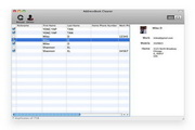 AddressBook Cleaner For Mac 2.90