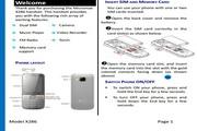 Micromax X286手机说明书