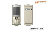 Micromax X263手机说明书