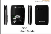 Micromax Q36手机说明书