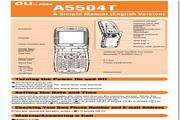东芝A5504T手机使用说明书