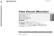 索尼PFM-500A3WG等离子彩电用户手册