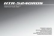 雅马哈HTR-5240RDS声乐处理器说明书