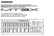 雅马哈MT3X声处理器说明书