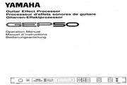雅马哈GEP50声乐处理器说明书