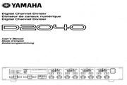 雅马哈D2040声乐处理器说明书