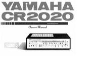 雅马哈CR-2020声乐处理器说明书